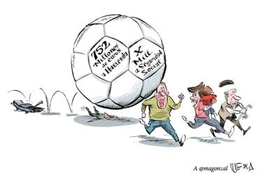 La deuda del fútbol nos aplastará