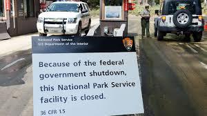 Parque nacional cerrado porque el gobierno no paga