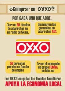 Campaña para el apoyo del comercio local contra la expansión de OXXO