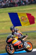 Meme sacado de twitter: Márquez en su próxima carrera